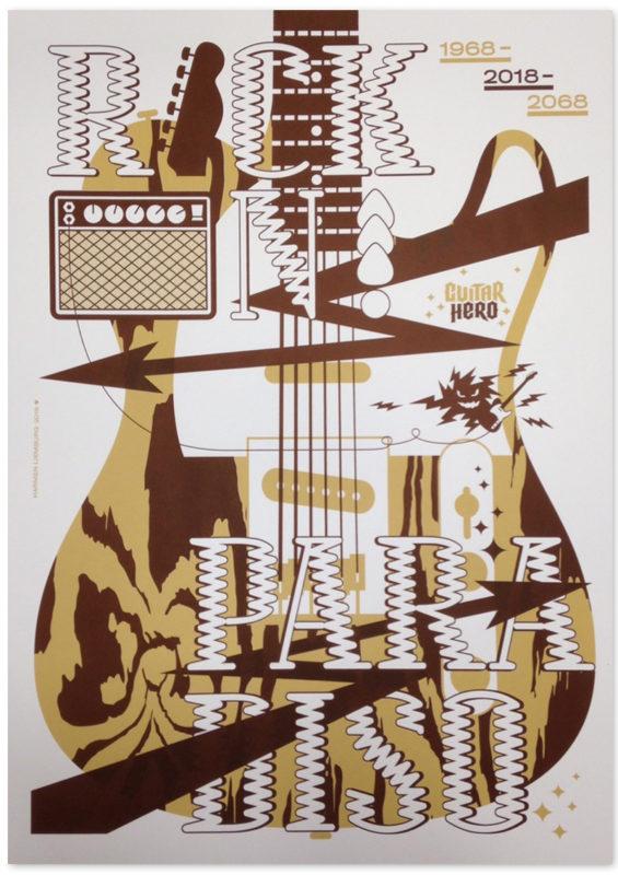 Harmen Liemburg voor 50 jaar Paradiso - 50 Posters