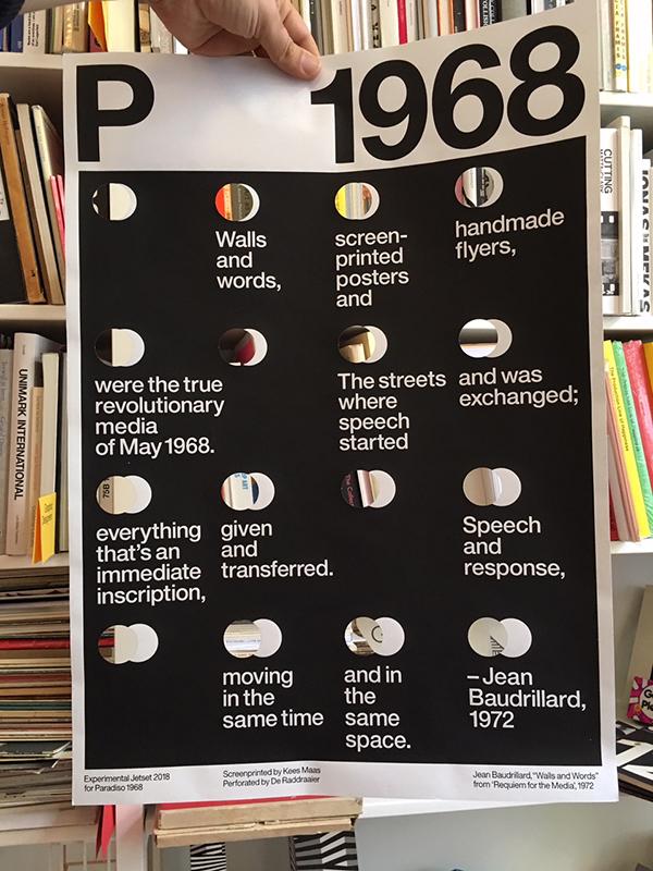 Experimental Jetset voor 50 jaar Paradiso, 50 posters