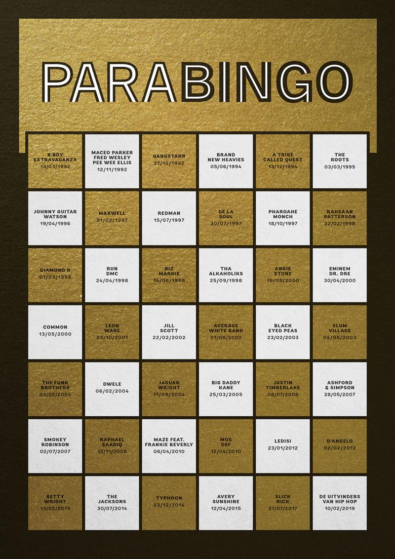 Menno Spieker - Paradiso 50 jaar, 50 posters
